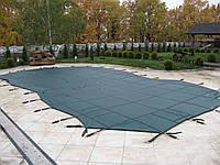 Батутное накрытие Loop-Loc для бассейна Онтарио размером 8,80 х 4,00 м. Зимнее накрытие