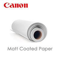 """Бумага матовая Matt coated paper 24""""x30m 140г/м"""