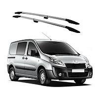 Рейлинги Peugeot Expert 2007-2015 с пластиковым креплением