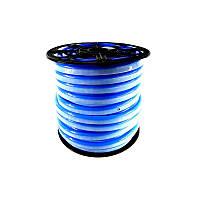 Светодиодный неон Led flex 12V IP68 синий