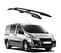 Рейлинги Peugeot Expert 2007-2015 с металлическим креплением