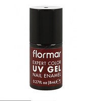 Гель-лак для ногтей Flormar Expert Color UV Shimmery Red №13