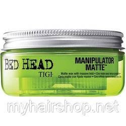 Матовый воск сильной фиксации TIGI Bed Head Manipulator Matte Wax 50 мл