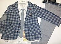 Стильный классический костюм на мальчика  , рост 104-116см.