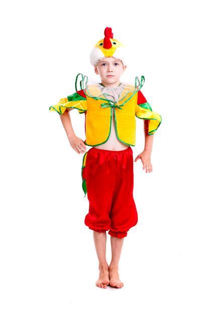 Детский карнавальный костюм для мальчика Петушок