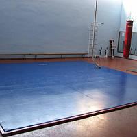 Ковёр борцовский Sportko одноцветный