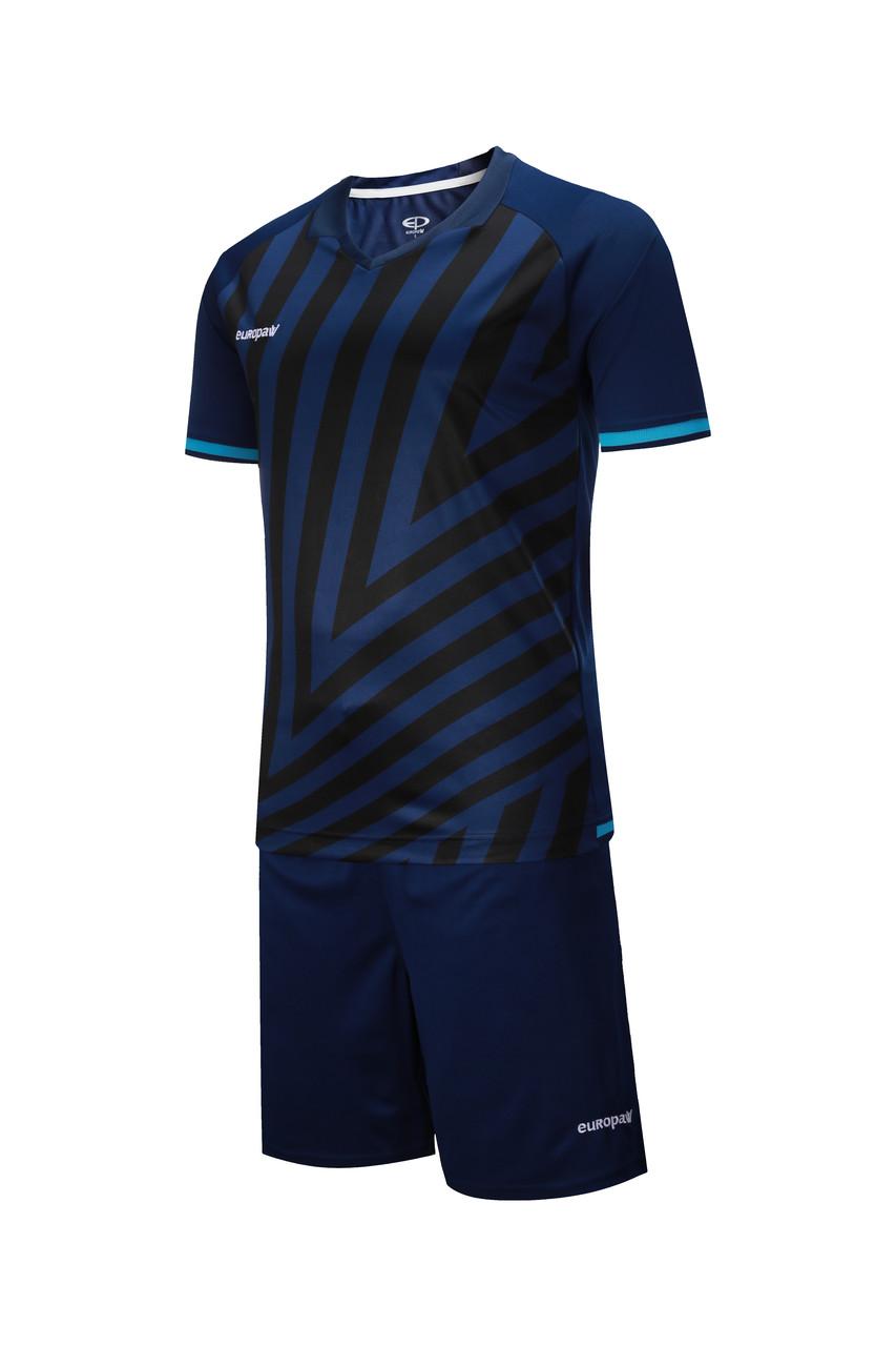 Футбольная форма Europaw 016 т.сине-бирюзовая