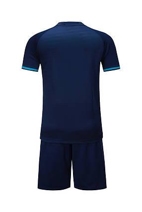 Футбольная форма Europaw 016 т.сине-бирюзовая , фото 2