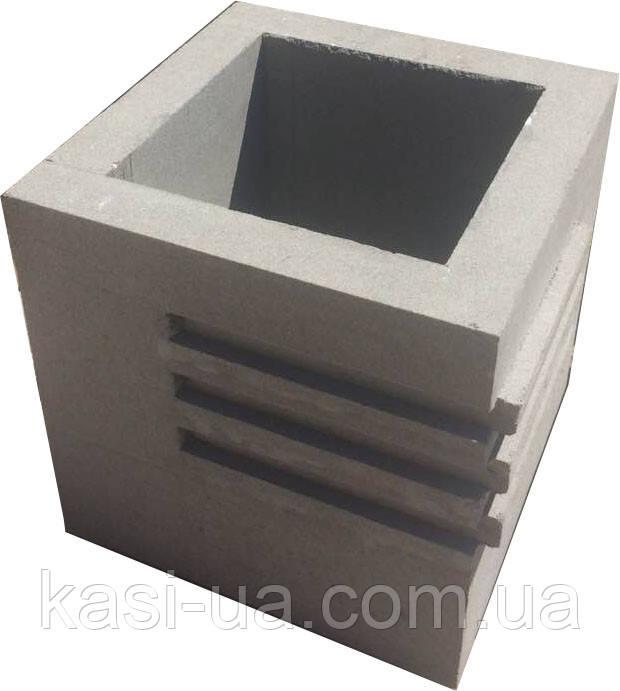 Уличная урна (цветник) бетонная №4