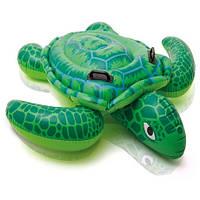 Детский надувной плотик Черепаха Intex 150х127 см (57524)