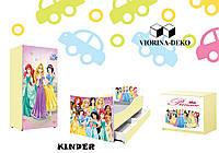 """Детская спальня  """"KINDER""""  Принцесы, фото 1"""