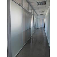 Офисные перегородки с тонированным стеклом, фото 1
