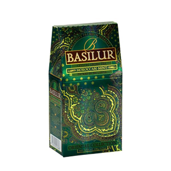 Чай BASILUR Moroccan Mint Марокканская мята 100g