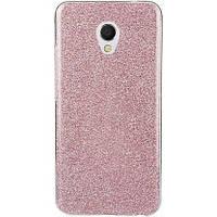 Силиконовая накладка Gliter для MEIZU M5s (Pink)