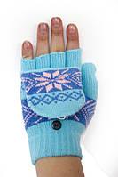Новинки! Получили новые модели вязаных перчаток