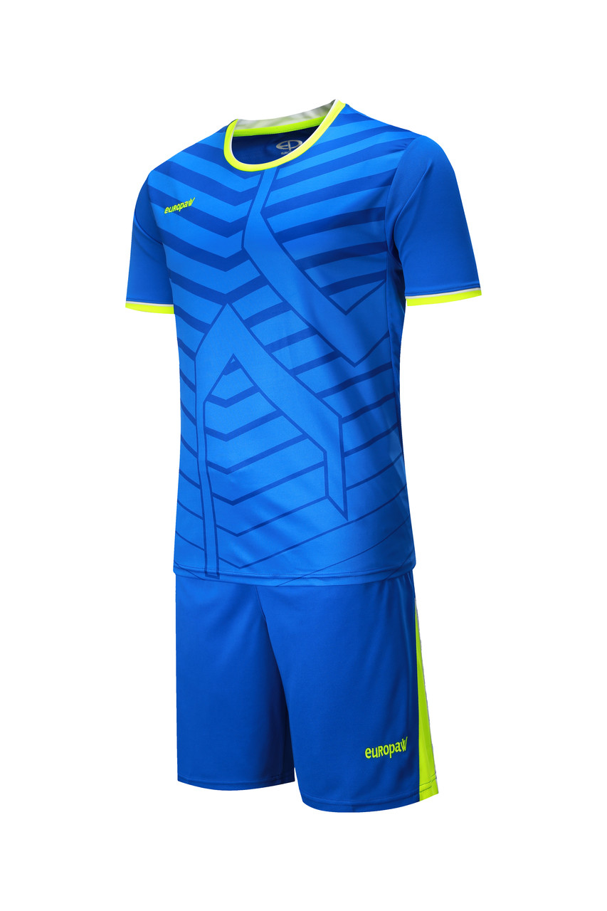 Футбольная форма Europaw 015 синяя