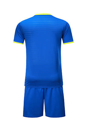 Футбольная форма Europaw 015 синяя, фото 2