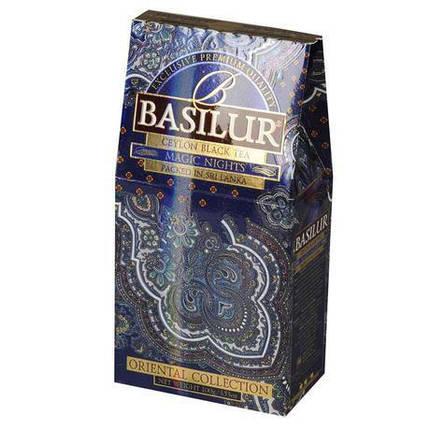 """Черный чай Basilur """"Magic nights"""" Магическая ноч100g, фото 2"""
