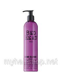 Шампунь для блондинок TIGI Bed Head Dumb Blonde Shampoo 400 мл