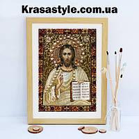 Алмазная вышивка икона Исус спаситель, фото 1