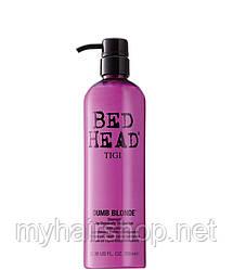 Шампунь для блондинок TIGI Bed Head Dumb Blonde Shampoo 750 мл