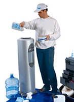Санитарная обработка напольного куллера