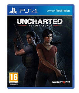 UNCHARTED: THE LOST LEGACY (PS4) РУССКАЯ ВЕРСИЯ