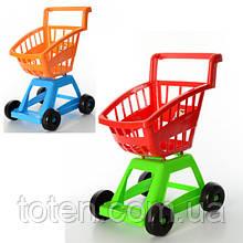 Візок ігрова 37 х 31 х 47 см для покупок у супермаркеті ОРІОН 693