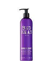 Шампунь-корректор для блонд и химически обработанных волос Tigi Bed Head Dumb Blonde Purple Toning Shampoo