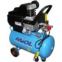 Miol Компресор Циклон Miol 206-24 (24 л. 206 л\хв. шланг, фільтр, ремкомплект)