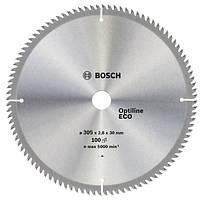 Bosch Диск пильний 305х30х100Т Optiline Eco