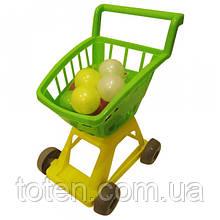 Тележка для покупок с шариками ОРИОН 693 в.4