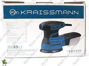 Эксцентриковая шлифовальная машина Kraissmann 350ES13, фото 2