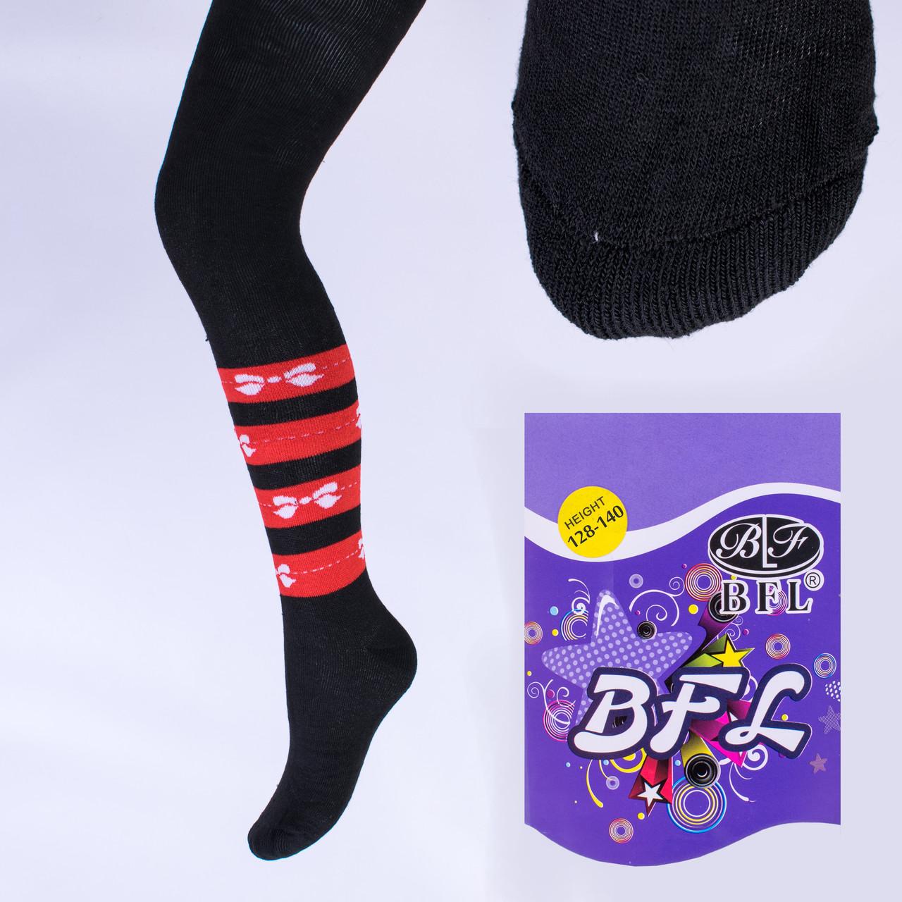 Детские махровые колготки BFL FH010-5 128-140