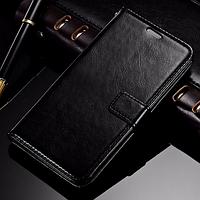 Кожаный чехол-книжка для Samsung Galaxy A5 A510 (2016) черный
