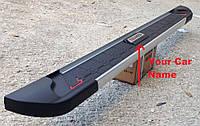 Боковые подножки RedLine V2 (2 шт., алюминий) к Renault Kadjar