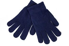 Женские трикотажные перчатки вязаные 5067-2 синий, фото 2