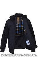 Куртка мужская демисезонная WOLVES W-7312 тёмно-синяя