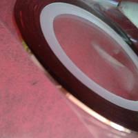 Лента самоклеящаяся для дизайна ногтей тонкая шоколад