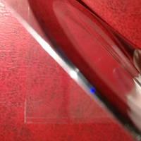 Лента самоклеящаяся для дизайна ногтей тонкая черная