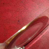 Лента самоклеящаяся для дизайна ногтей тонкая золото