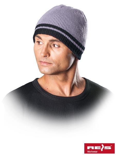 Зимняя утепленная шапка REIS (original), с флисовой подкладкой, мужская