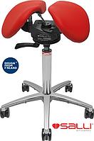 Стул седло Salli SwayFit с кожаной обивкой - бюджетный аналог одной из самых дорогих моделей SwingFit в коже