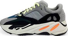 Мужские кроссовки Adidas Yeezy Wave Runner 700 Grey/Black