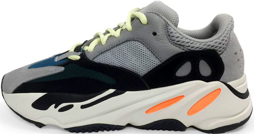 Мужские кроссовки Adidas Yeezy Wave Runner 700 Grey Black - Интернет-магазин  обуви и af9dee7b04f