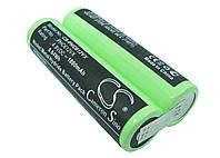 Аккумуляторная батарея CameronSino для электровеника Philips FC6125, 4.8V, 1800mAh/8.64Wh, green