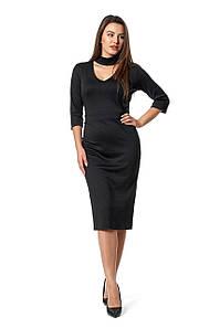 Платье Рамина 0281_7 Чёрное