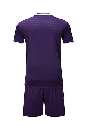 Футбольная форма Europaw 015 фиолетовая, фото 2