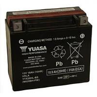 Мото аккумулятор YUASA YTX20HL-BS  18ампер, 310 А, (-/+), 175х87х155 мм