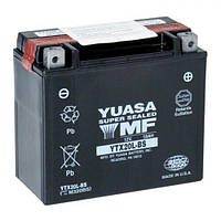 YTX20L-BS YUASA  Мото аккумулятор 18 А/ч, 270 А, (-/+), 175х87х155 мм